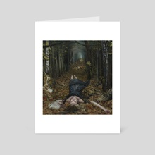 Threnody - Art Card by Christer Karlstad