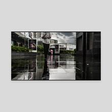 Walking In The Rain (2016-6-SHA-WALKING) - Canvas by Vlad Meytin