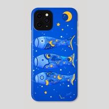 Starry Sky Koinobori - Phone Case by Siny Cath