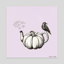 October tea - Canvas by mariu.who