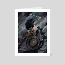 Wonder - Art Card by Sean Tay
