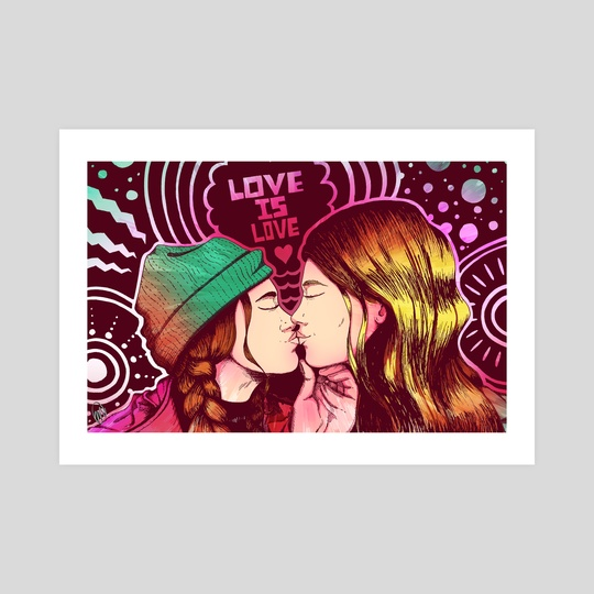 Love is Love (Full Color) by Mel McKenzie