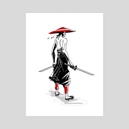 Samurai by Nashaat Conde