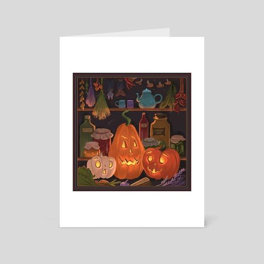 Pumpkin secret by Indira Muzbulakova
