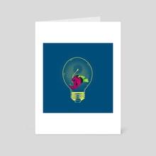 Anglerfish bulb - Art Card by barmlalisi RTB