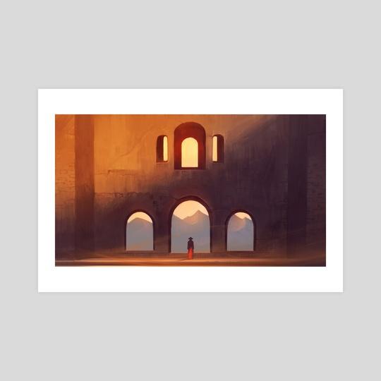 Sunset Silence by Nele Diel