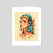 Princess - Art Card by Maria Dimova