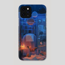celestial bodies - Phone Case by miena