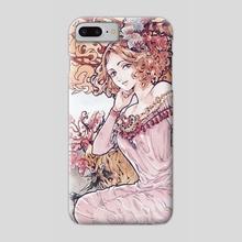 """Art Nouveau"" Haru - Phone Case by Ether Beam"
