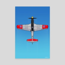 P51 Mustang - Canvas by Robin Good