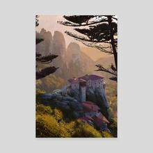 Meteora, Greece - Canvas by Jason Scheier
