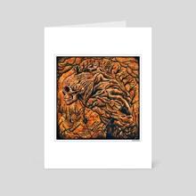 Black Mountain - Art Card by Anton Karlik