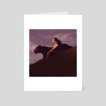 Repose - Art Card by Garrett Pack