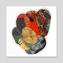 Unconditional Collage - Acrylic by Tyler Worthington