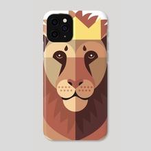 Lion  - Phone Case by Callum McGoldrick