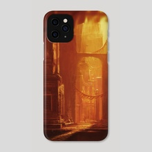 Ancient City - Phone Case by Allison Chin
