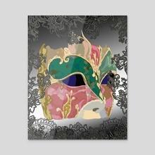 VENICE - Acrylic by Kostin Sergey