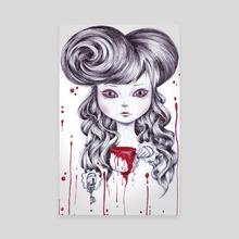 dea - Canvas by Daniela Isceri