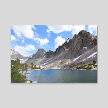 Kearsarge Pinnacles (Color) - Photography Fine Art Print for Sale - Acrylic by Buuck Photography