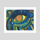 Eye eye eye  - Art Print by ThEclecticFunk