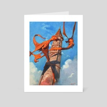 Three Dragons - Art Card by Sidharth Chaturvedi