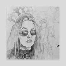 Skeptical - Canvas by Emily Nikolaisen