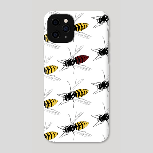 Wasps pattern  by Erin  Rudling