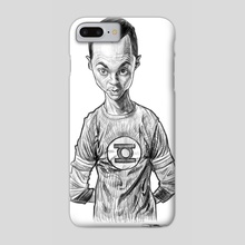 Sheldon Cooper - Phone Case by Priyatham Sri