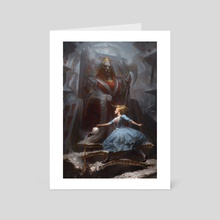 Deconstructing Wonderland - Art Card by Cynthia Sheppard