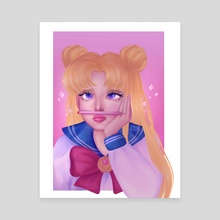 Sailor Moon - Daydream - Canvas by Nour