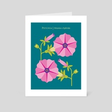 Petunia - Art Card by Christopher Dina