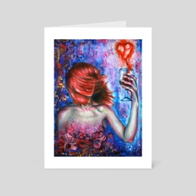 Heartbreaker - Art Card by Olesya Umantsiva