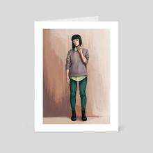collars - Art Card by Melissa Wong
