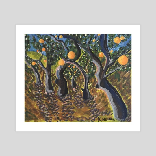 Orange Grove by Kaelee Helms