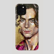 timothee chalamet - Phone Case by Jackie Liu