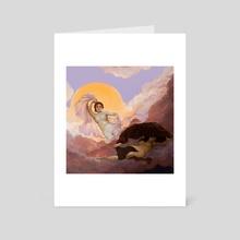 Dawn Awakens the Night - Art Card by ShellsNRoses