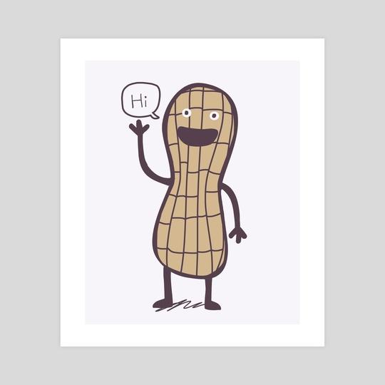 Peanut by Sandra Aguilar