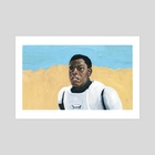 John Boyega  Star Wars: Episode VII   - Art Print by Jesse Harp