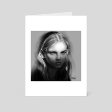Molly Bair - Art Card by Maciej Bednarz