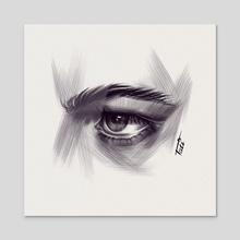 Story in the eye - Acrylic by Tati Zahvozdina