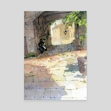 Viterbo 03 - Canvas by POM