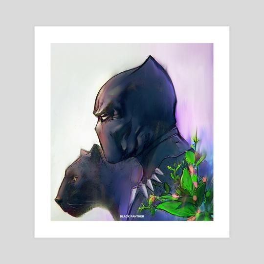 Black Panther  by Paul David
