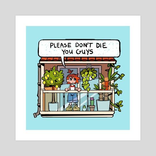 please don't die friends by jo
