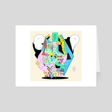 Wild Lips - Art Card by Jeff Bartell