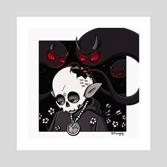 Death Clock by Frawgsy