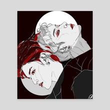 Taeyong & Ten - Baby Don't Stop drawing - Canvas by Xanthe P Russell