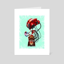 Speakerbot - Art Card by Alfred Manzano