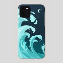 Wave - Phone Case by Julia Zhilyaeva
