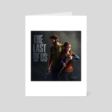 The last of us - Art Card by Rafael Andrade