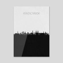 Krasnoyarsk - Acrylic by Deniz Akerman